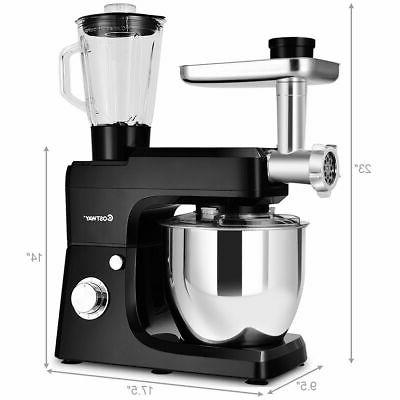 Multifunctional Stand Mixer Meat Grinder W/ 7QT Bowl New