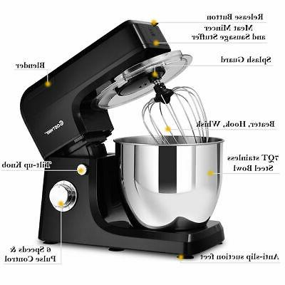 Multifunctional Stand Mixer Blender Meat Grinder W/ Bowl