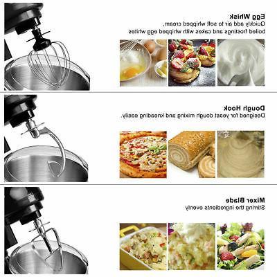 New Food Stand Mixer Speed 550W Tilt-Head Bowl