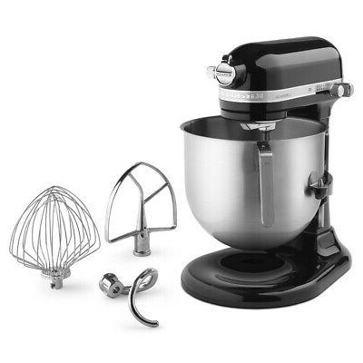 nsf certified black stand mixer