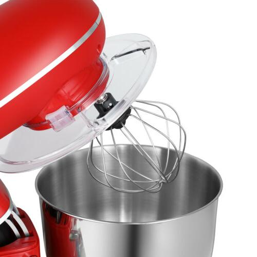 Pro Food Mixer Bowl Red