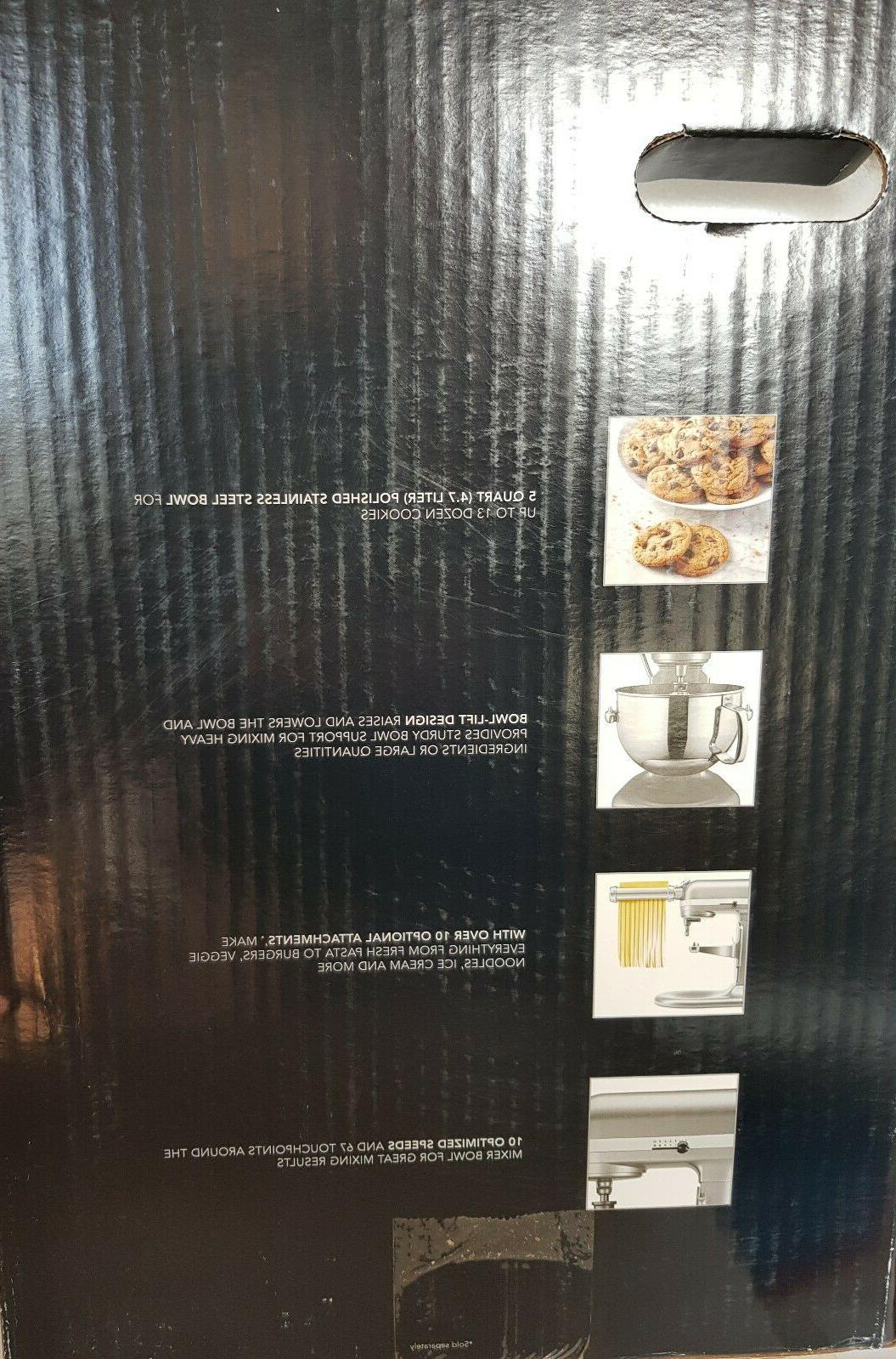 KitchenAid Bowl-Lift Stand Mixer with Bonus Accessories New