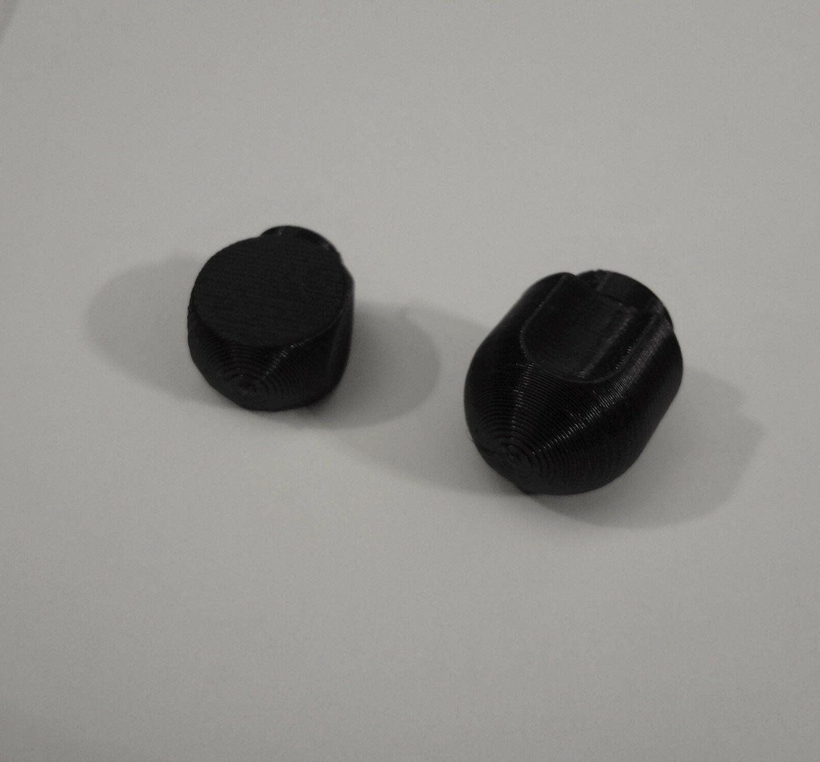 pair of lock and speed knob