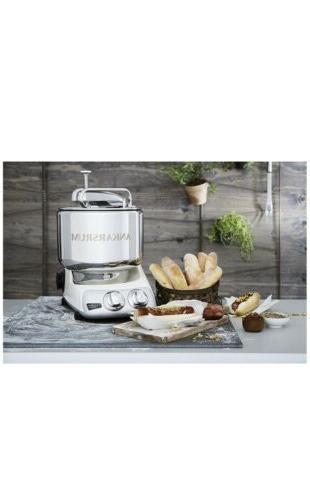 Ankarsrum Stainless 7 Liter Stand Mixer