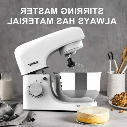 Stand Mixer 4.7QT 8-Speed Electiric Food Blender Mixer Grind