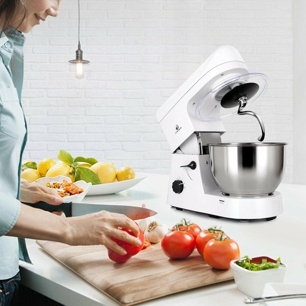 MURENKING 6-Speed Kitchen Electric Mixer with Accessories
