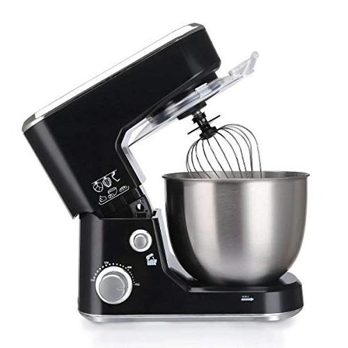 Cusimax Mixer - Tilt-head Food Mixer with Steel Hook, Mixing Beater CMKM-150,