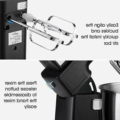 Stand Mixer, Electric Mixer 2 1 Hand 4 Quarts