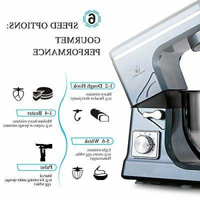 Stand 500W 5Qt 6Speed Mixer