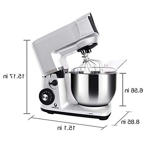 Stand Mixer,Posame Mixer Stand 5.5 Steel Hook,Flat Dough Kneading Machine