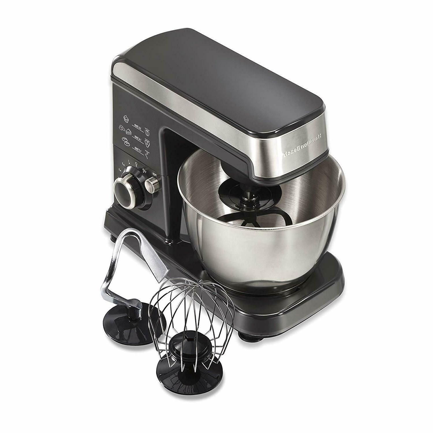 Stand Mixer Machine Maker Bakery Beater Dough Bowl Baking Co