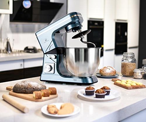 MURENKING Mixer 500W 5-Qt Kitchen Food Mixer Accessories
