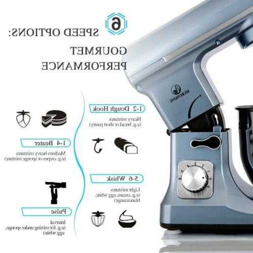 professional MURENKING MK37 5-Qt 120 V 6-Speed (Silver