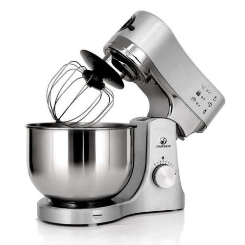 MURENKING  kneading noise as low Stand Mixer MK-50G 650W 8-S
