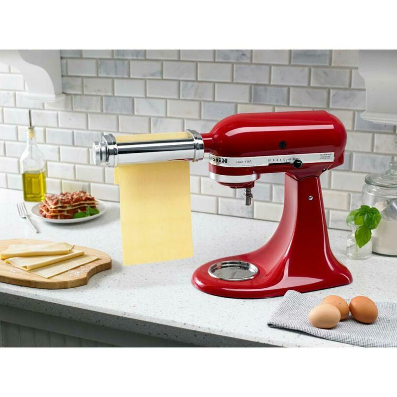 KitchenAid Stand Pasta Roller Attachment Thick Pappardelle Noodles