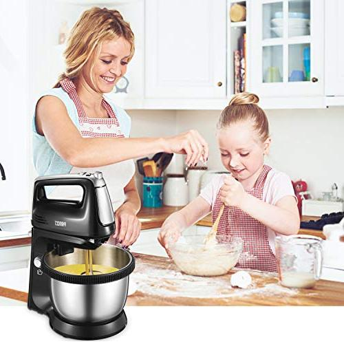 Stand in with Bowl, Mixer Sturdy and Hooks, 3.5L, 250Watt,