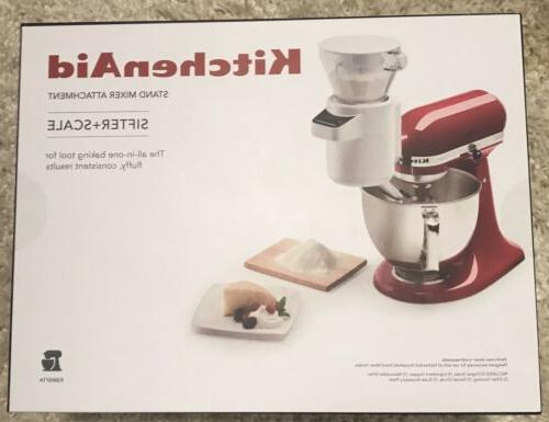 KitchenAid Stand Sifter & Scale Attachment