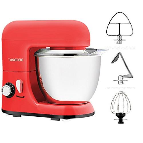 CHEFTRONIC 350W 6 Compact Electric Mixer 4.2 Bowl for Mother's Day, Wedding, Birthday