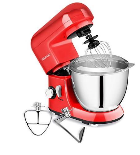 350W Speeds Compact Kitchen 4.2 Stainless Bowl with for Mother's