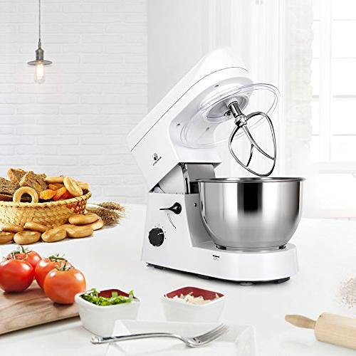 MURENKING SM168 650W 5-Qt Kitchen Electric with Accessories