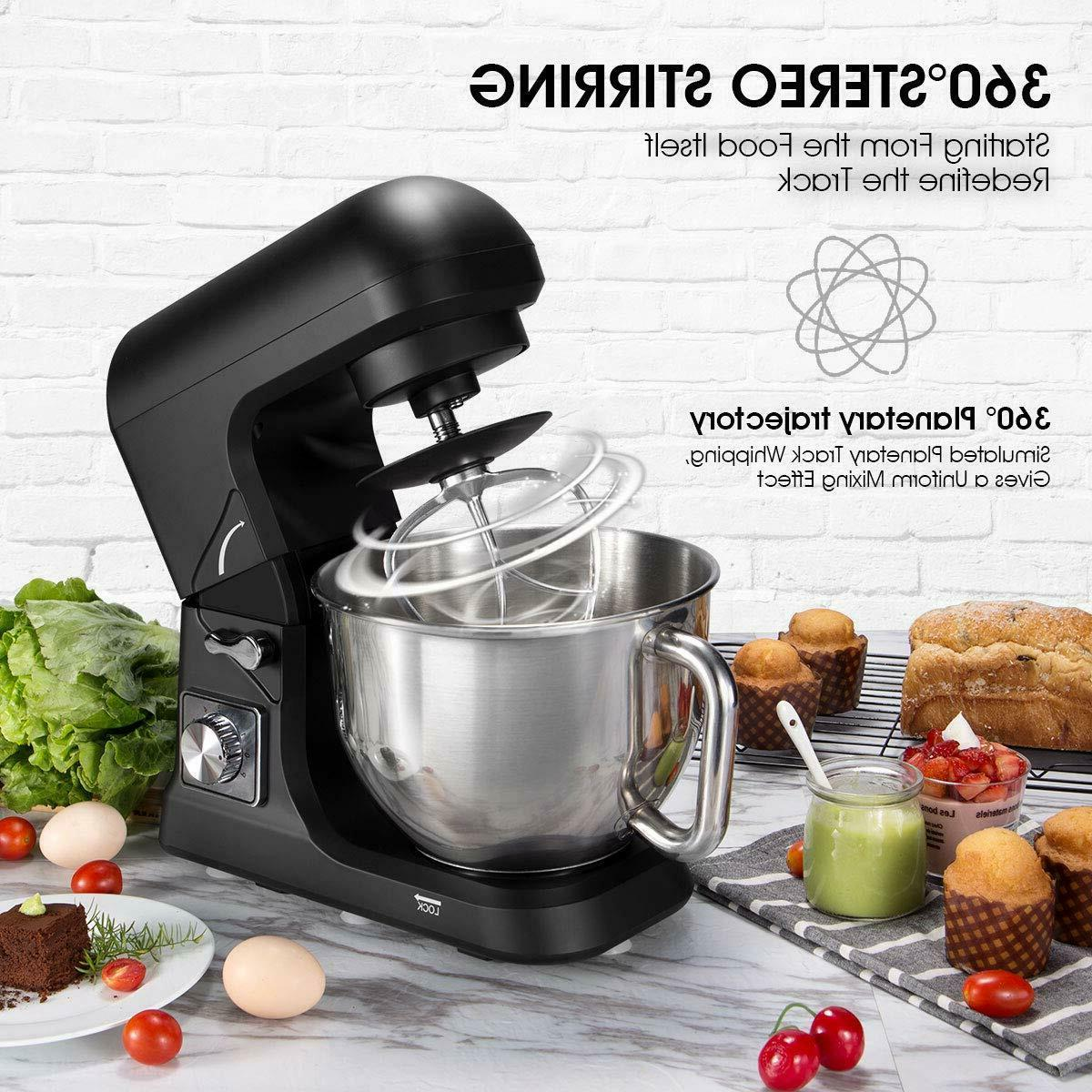 Stand Mixer Tilt 5 Classic Speed 500W Kitchen Dough Mixer
