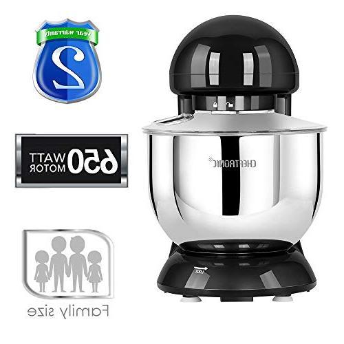 CHEFTRONIC Tilt-head SM-986 6 Speed Mixer