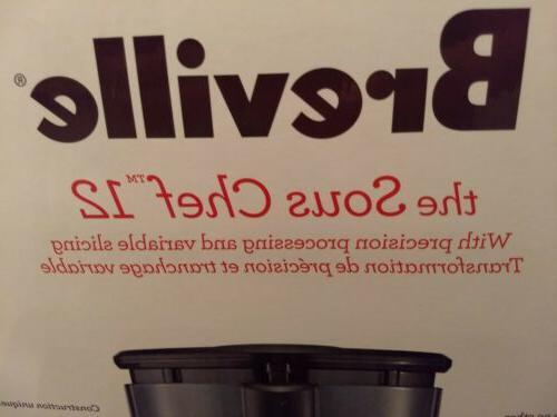 Breville The Chef 12 Silver New Box
