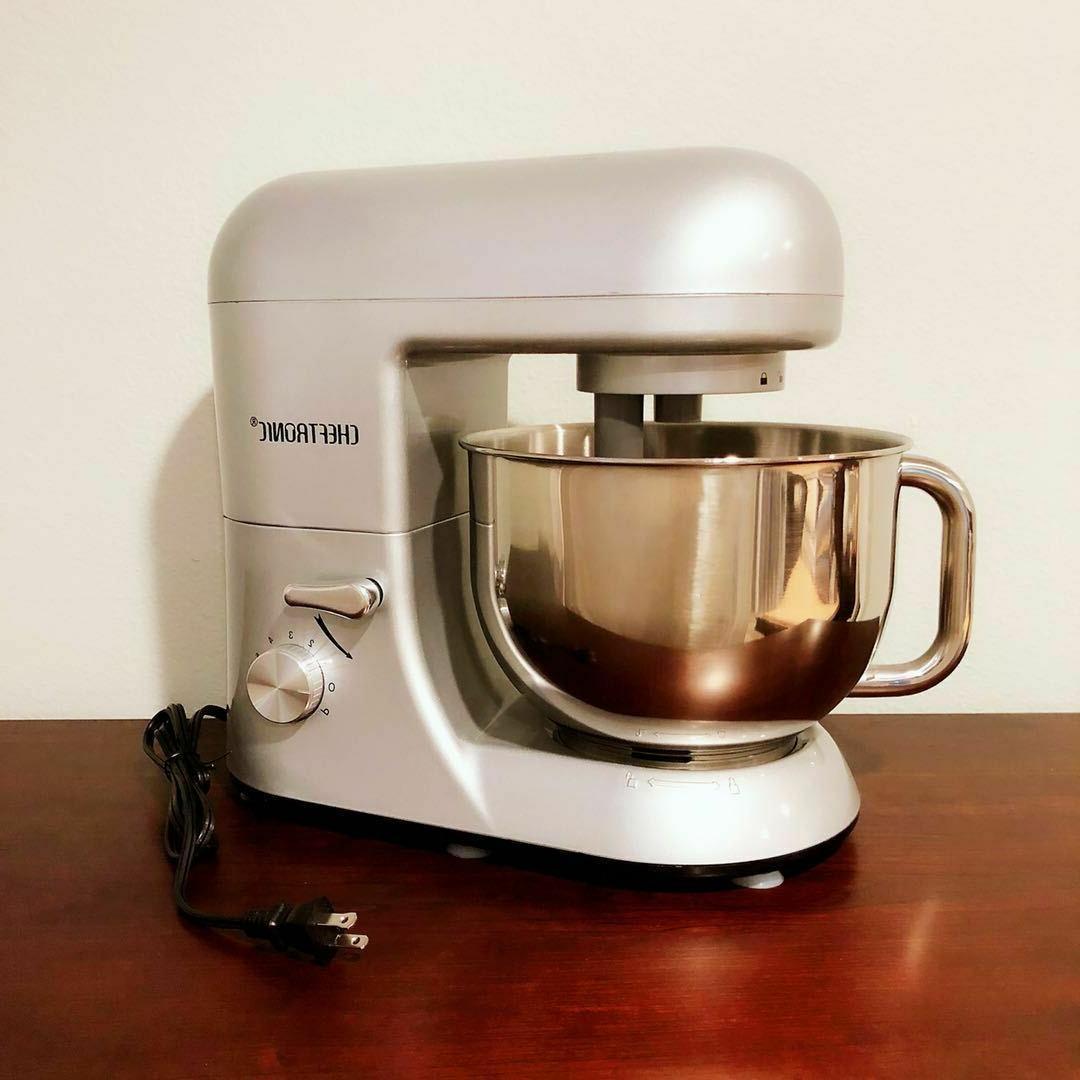 CHEFTRONIC Tilt-Head Kitchen Stand Silver