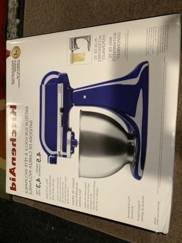 KitchenAid 4.5-Quart/10 Speeds KSM88BU Cobalt Blue New