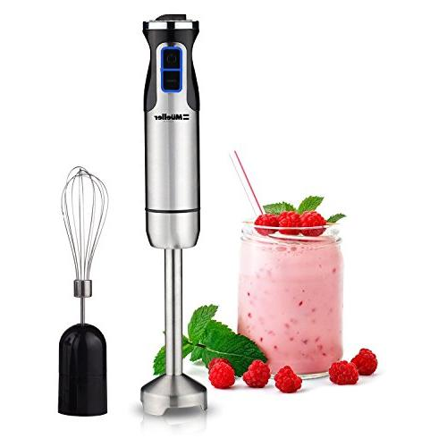 Mueller Austria Ultra-Stick 500 Watt Immersion Multi-Purpose Hand Blender