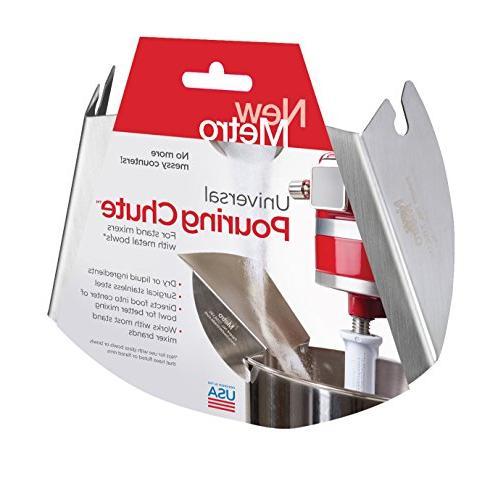 universal mixer pouring shield