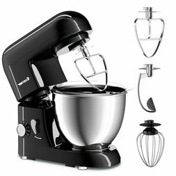 LargeElectric Food Stand Mixer 6 Speed 4.3Qt 550W Tilt-Head
