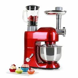 KLARSTEIN Lucia Rossa Food Processor • Stand Mixer • Mix