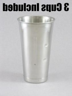 Malted Cup, 30 Oz., Stainless Steel