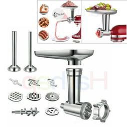 Meat Grinder Attachment For Kitchenaid Stand Mixer, Food Gri