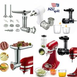 Meat Grinder Slicer Shredder Citrus Juicer Attachment For Ki