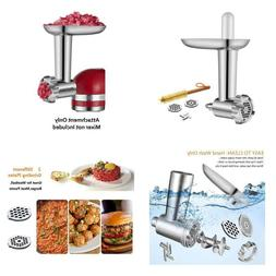 Metal Food Meat Grinder Attachment Compatible with Kitchen A