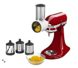 KitchenAid Mixer Attachment Pack: Slicer, Shredder, Grinder,