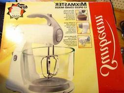 Sunbeam mixmaster 12 speed stand mixer model 2397