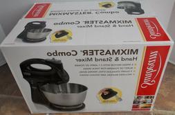 Sunbeam Mixmaster Combo Hand & Stand Mixer ~ NEW