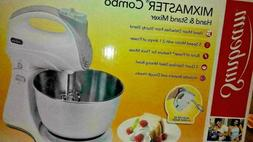sunbeam mixmaster combo hand & Stand Mixer Use either way