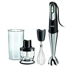 Braun MQ725 Multiquick Hand Blender, Black