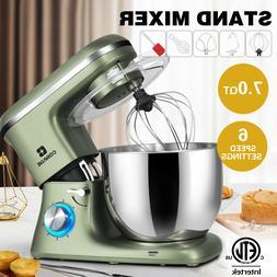 Multifunction 7-QT Electric Food Stand Mixer Tilt-Head Dough