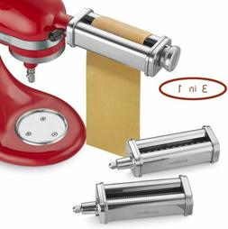new 3 piece pasta roller and cutter