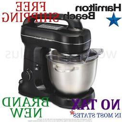 *New* HAMILTON BEACH 4qt Quart STAND MIXER 7 Speed 300W w Bo