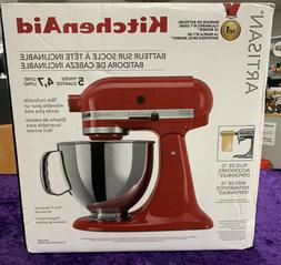 *NEW* KitchenAid Artisan 5 Qt. 10-Speed Empire Red Stand Mix