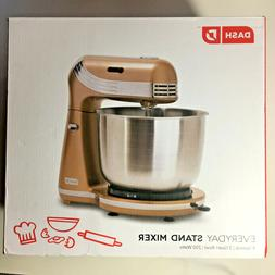 NEW IN BOX Dash Everyday Stand Mixer Gold
