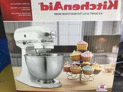 New KitchenAid  K45SSWH Classic 275-Watt 4-1/2-Quart Stand M