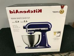 NEW Kitchen Aid KSM88BU Tilt Head Stand Mixer 4.5 Quarts COB