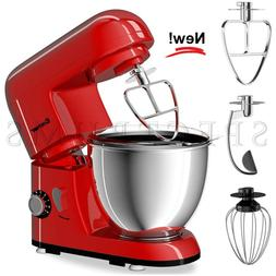 NEW COSTWAY Kitchen Countertop Stand Mixer 4.3 Quart 6-Speed